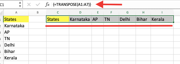How to Use Transpose in Excel?